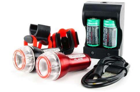 Flash u0026 Flare with mounts and charger  sc 1 st  ADVNTR. & Review: Exposure Flash and Flare bicycle lights - ADVNTR