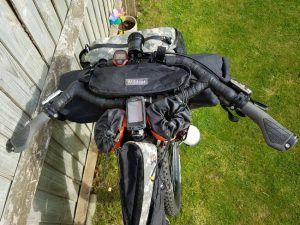 Bikepacking: handlebar bag