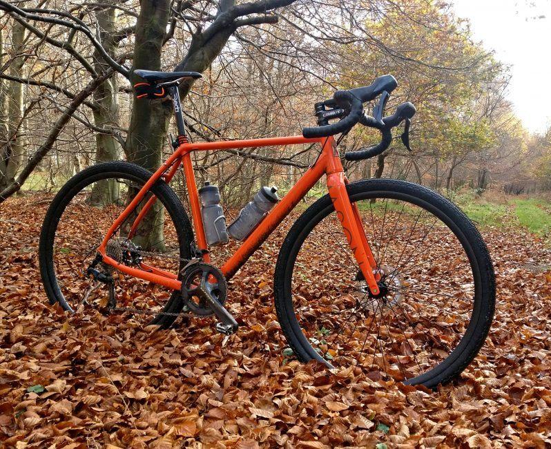 Homebrew Carbon Gravel Wheelset
