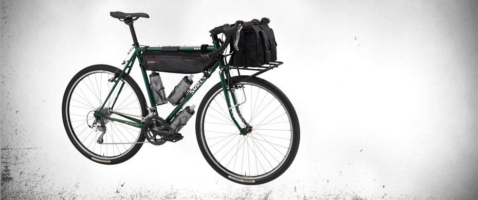The Surly Pack Rat loaded up