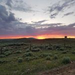 Tour Divide - Wyoming Sunset