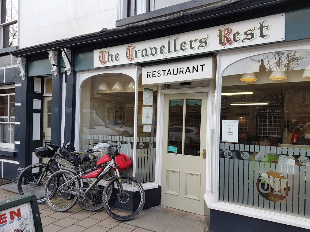 Travellers rest cafe Llanidloes