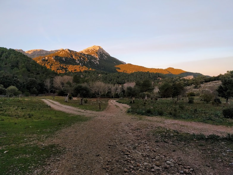 Tramuntana Mountains by Bengt