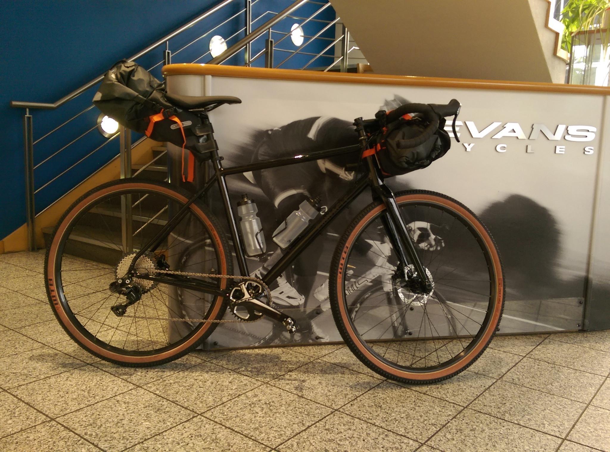 James Olsen - bikepacking