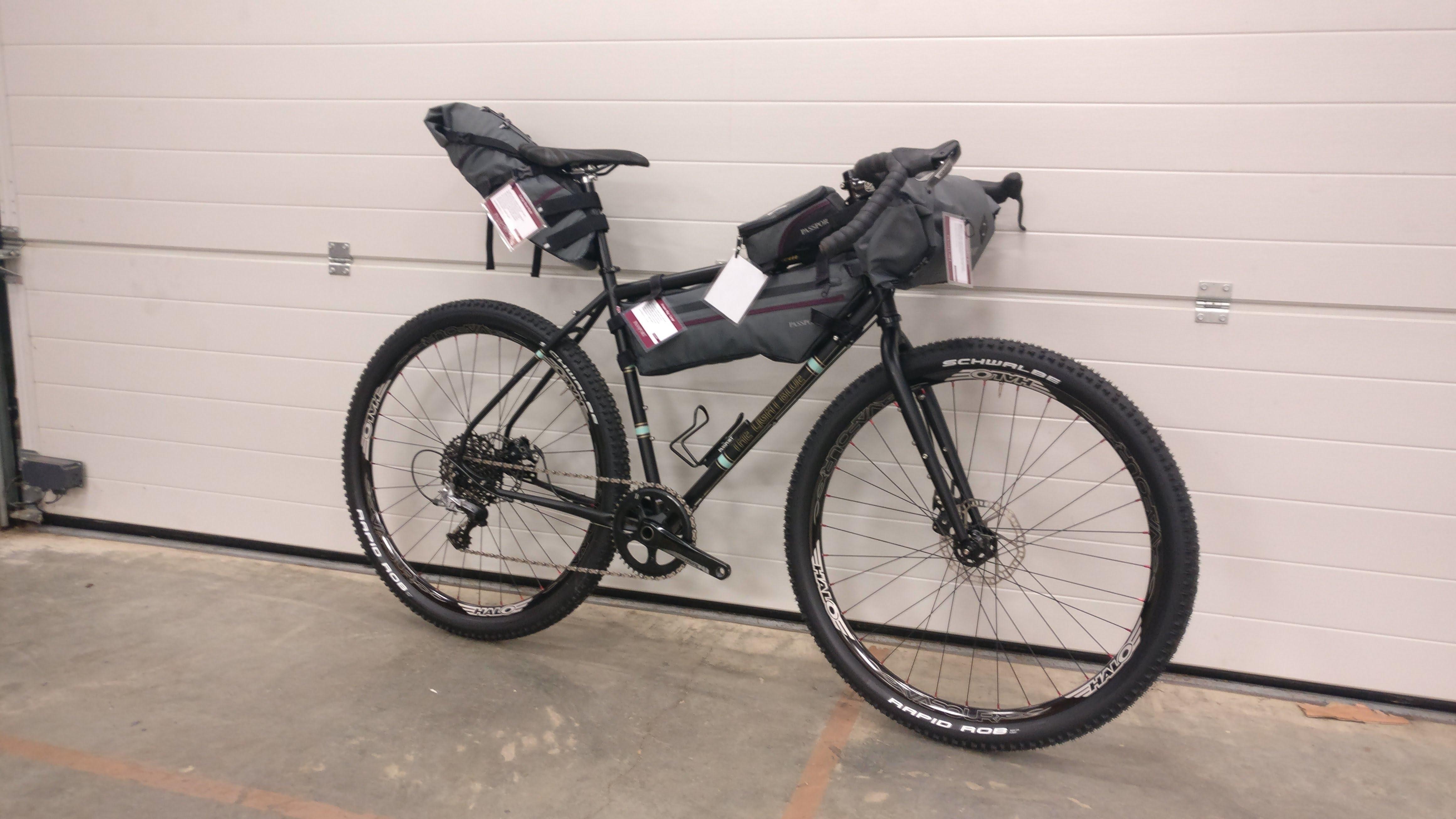 Passport Bicycle Frame Bag Large