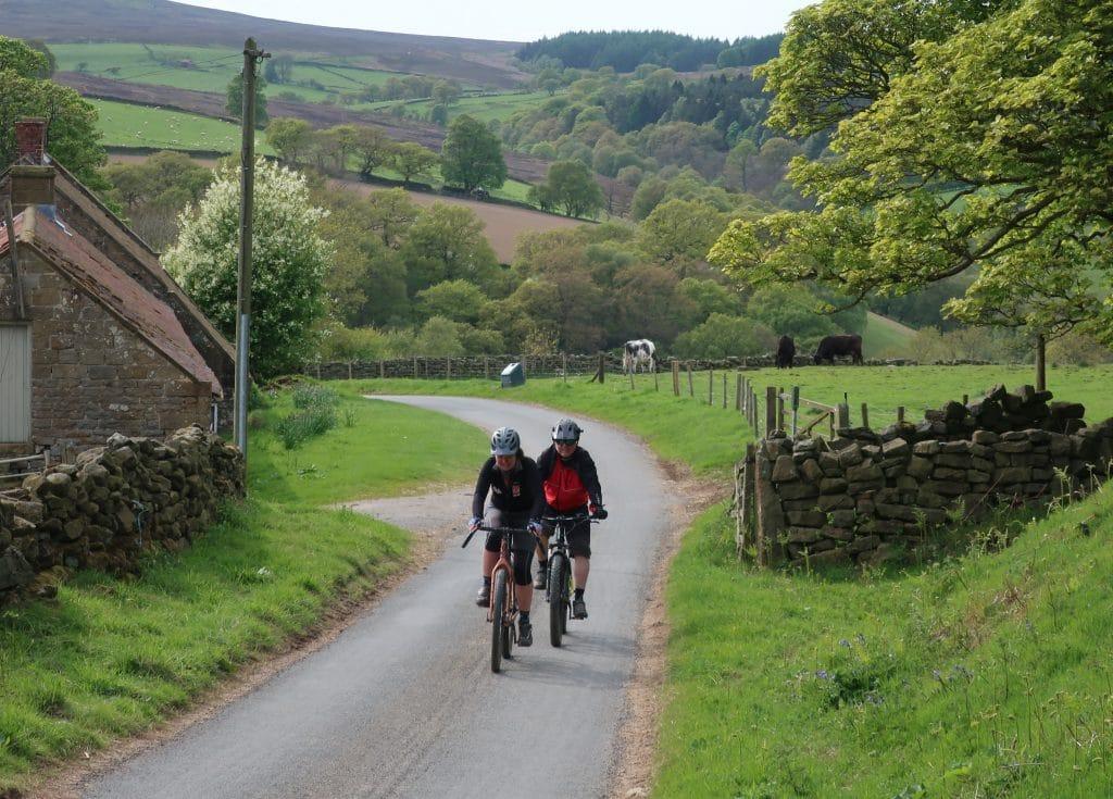 Yorkshire True Grit moorland adventure road climb