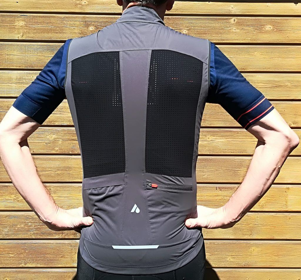Aussie Grit Light Gilet Rear
