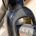 Plenty of clearance with the Whisky No.9 Carbon Fork