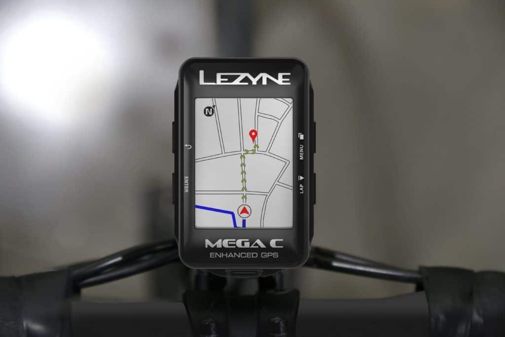 Mega C GPS Map View
