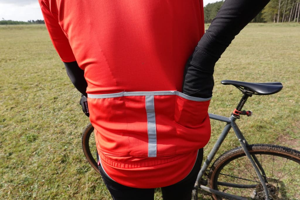 rear pocket access