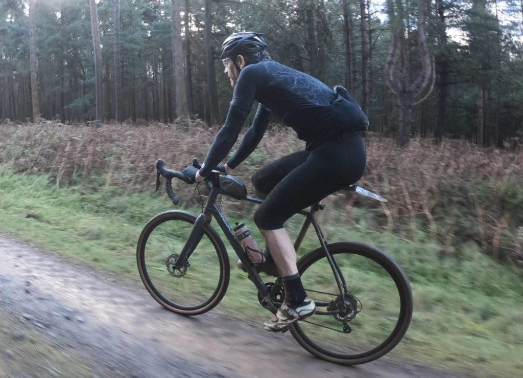Riding along with the Alpkit Comet gloves