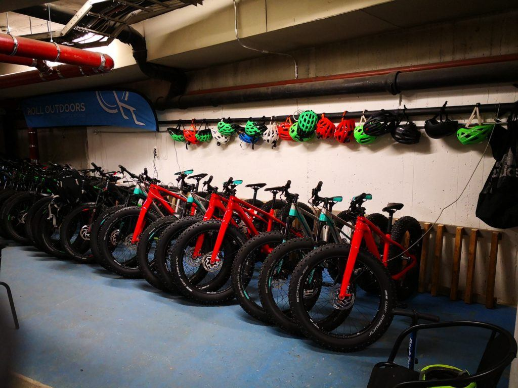 Roll Outdoors fatbike fleet