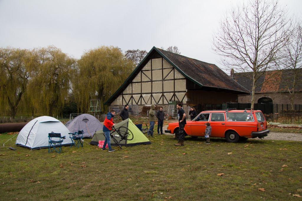 Gravel Fest camp site