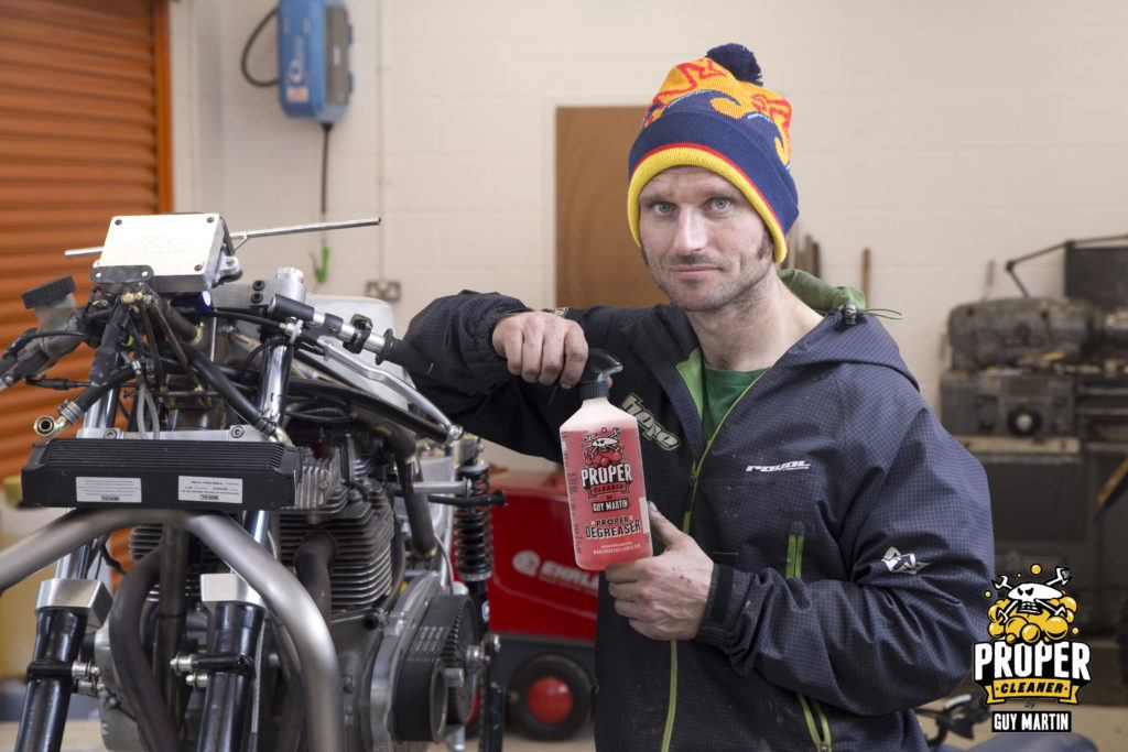 Guy Martin and his Proper Cleaner