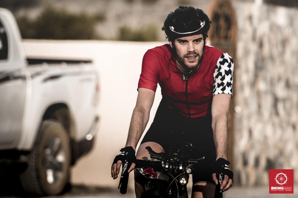 Josh Ibbett BikingMan Oman