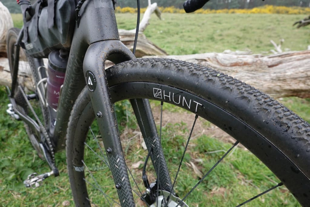 Hunt Carbon 30 Gravel wheels