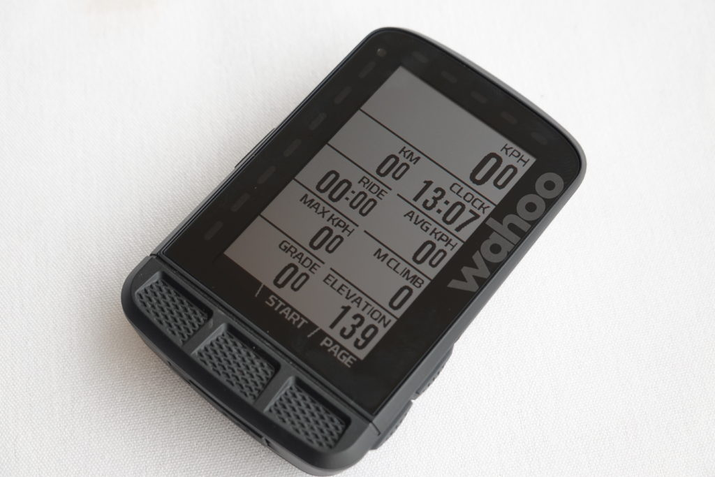 Wahoo ELEMNT Roam display
