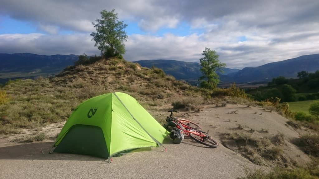 Hunt Beyond bikepacking scene