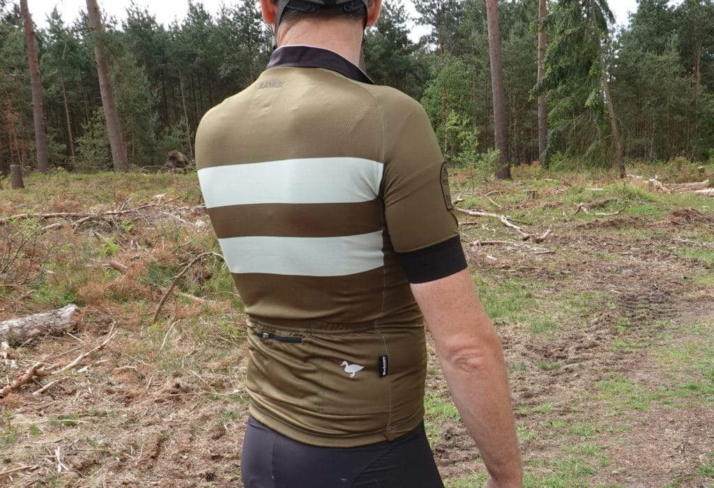 rear view of the Blackmore Cycling Cadet