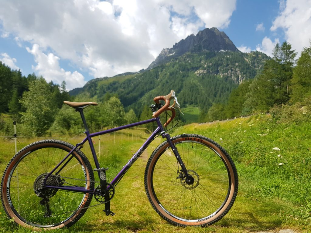 Velo Orange Piolet in the Alps