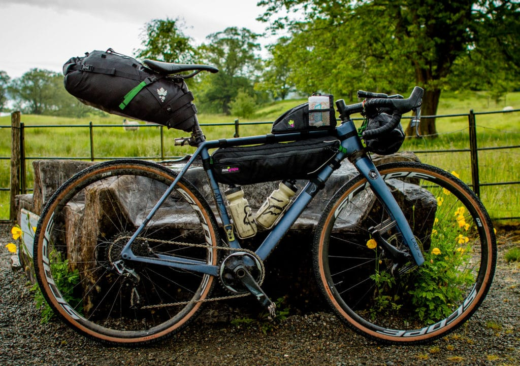 Scope O2 Bikepacking rig