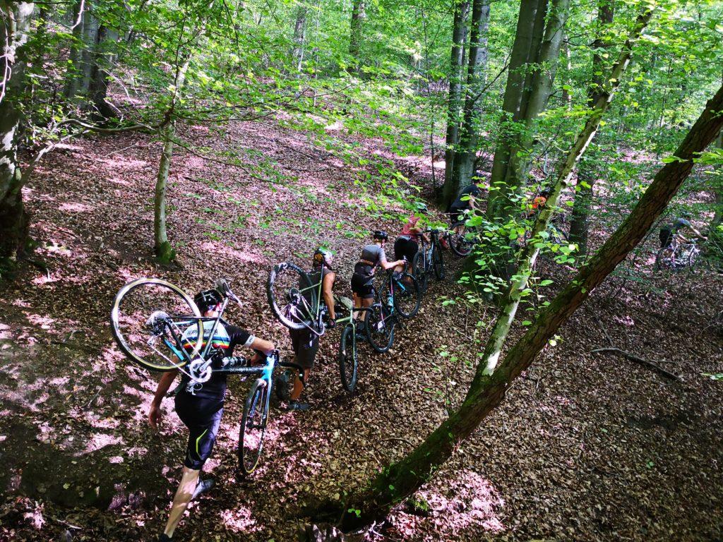 Hike-a-bike, Bombtrack style!