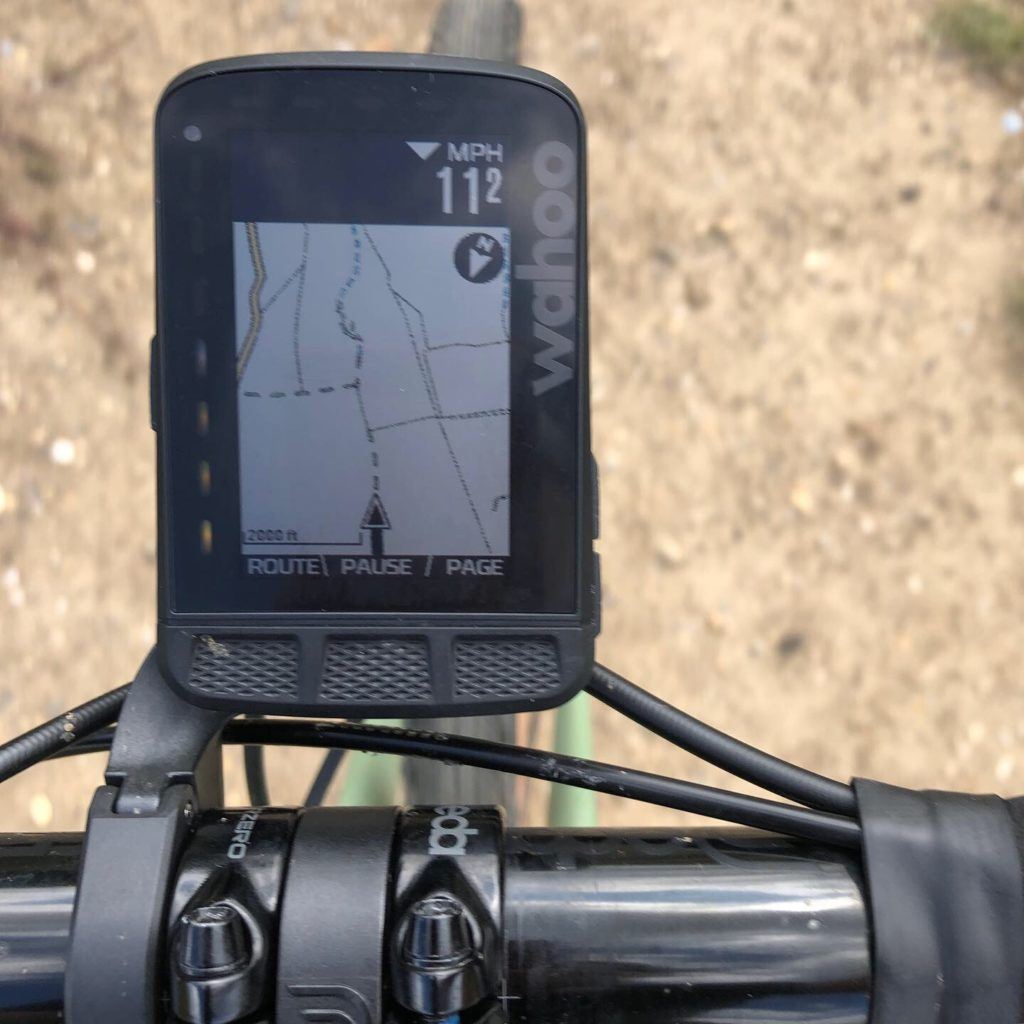 ELEMNT ROAM Mapping