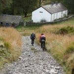 descending the gravel