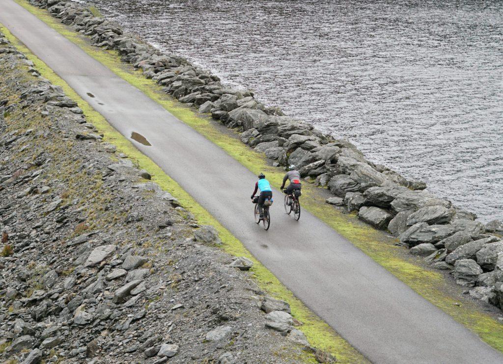 Wildcat 100 crossing the dam