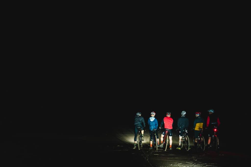 Druridge Bay at night