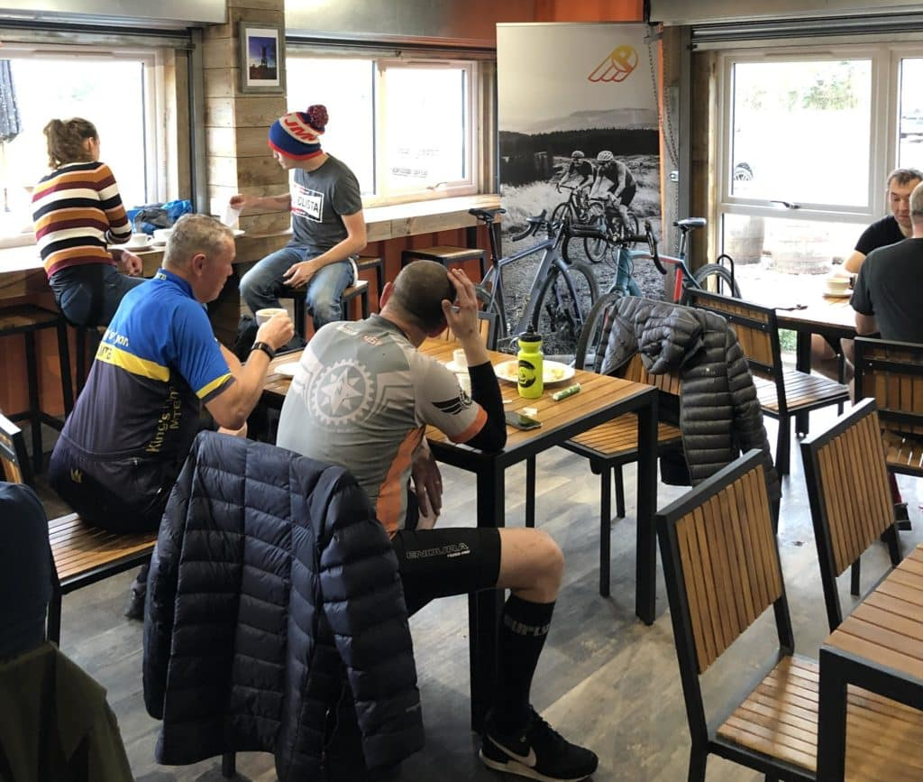 Cyclist cafe Phonenix Cycleworks