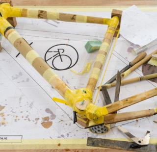Bamboo bicycle