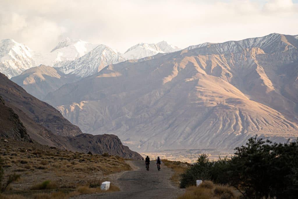Mountain views in Tajikistan - The Service Course