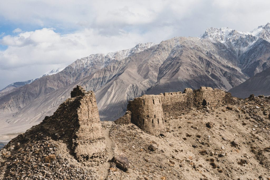 Old fortifications in Tajikistan - The Service Course
