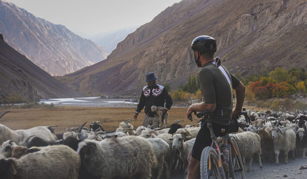 Rush hour in Tajikistan - The Service Course