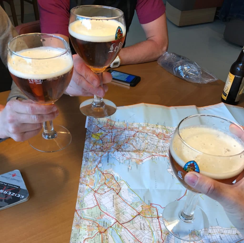Beers and maps!