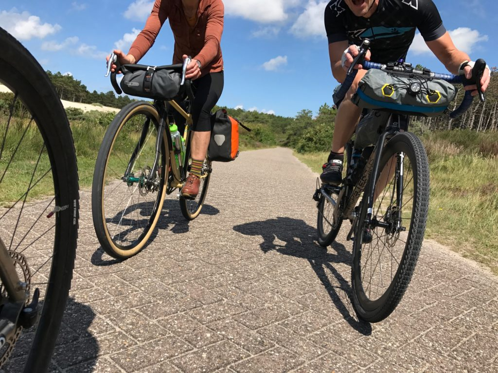 Cycle path adventures