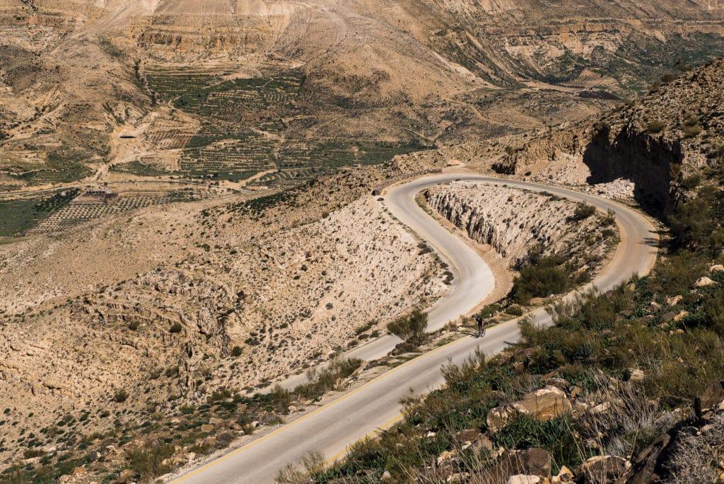 Jordan Bike Trail landscape views