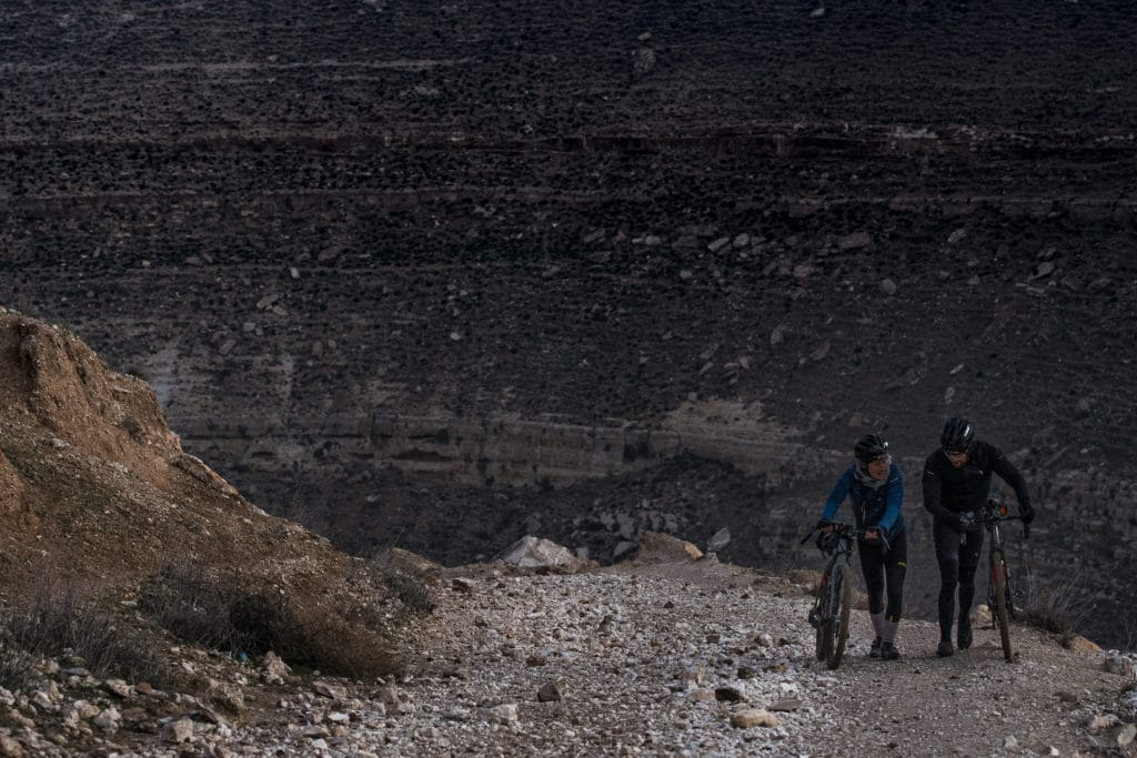 Jordan Bike Trail Wadi Desert