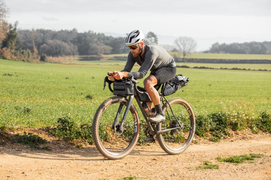 Belle Cycles ATER out riding with The Service Course