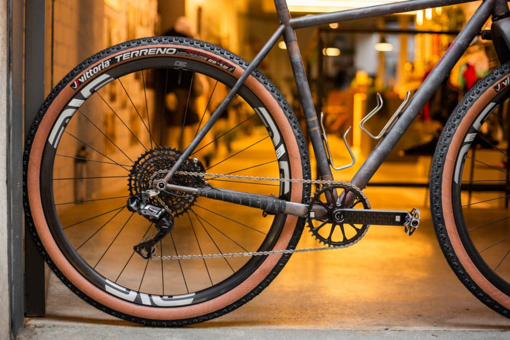 ATER rear profile with Shimano GRX and ENVE rim