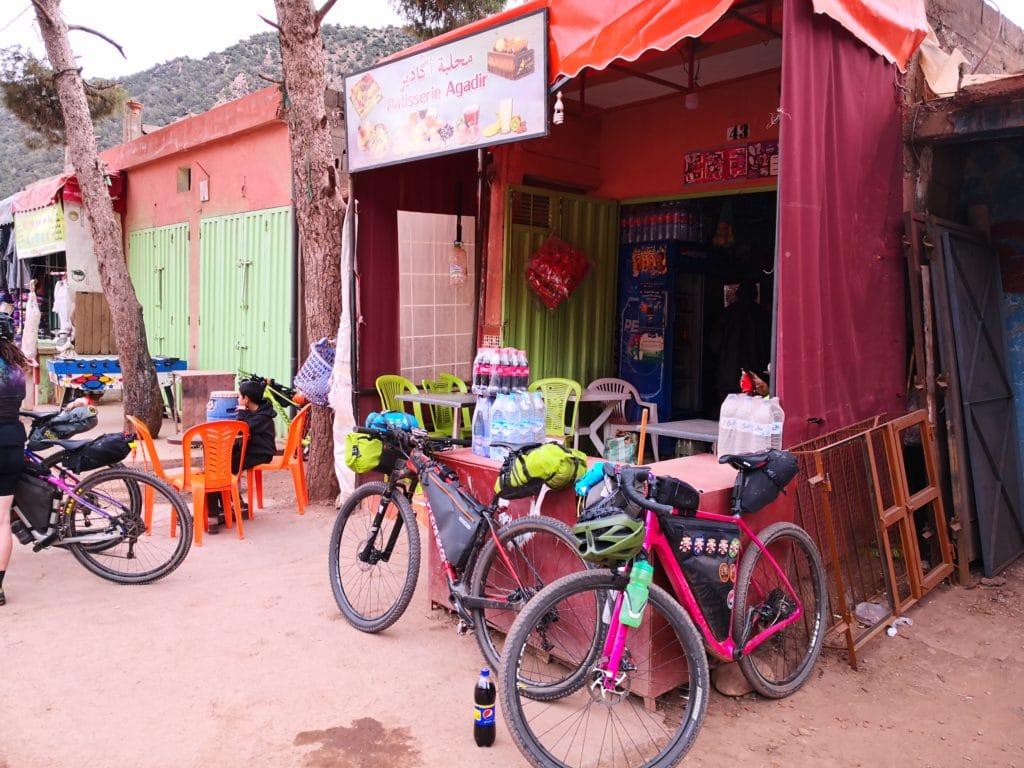 Atlas Mountain Race - a typical shop