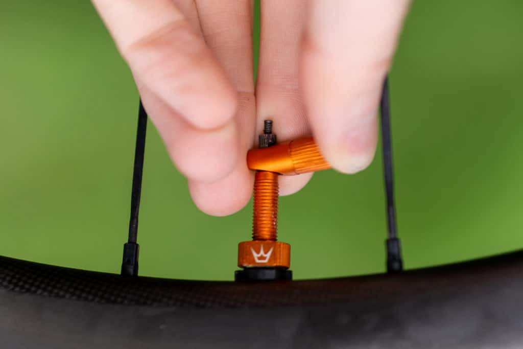 Peaty's Tubeless Valves - removabvle valve core