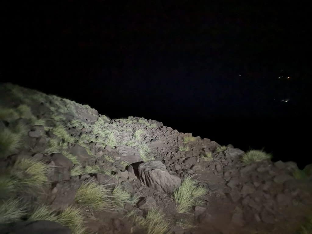 Atlas Mountain Race - riding through the night