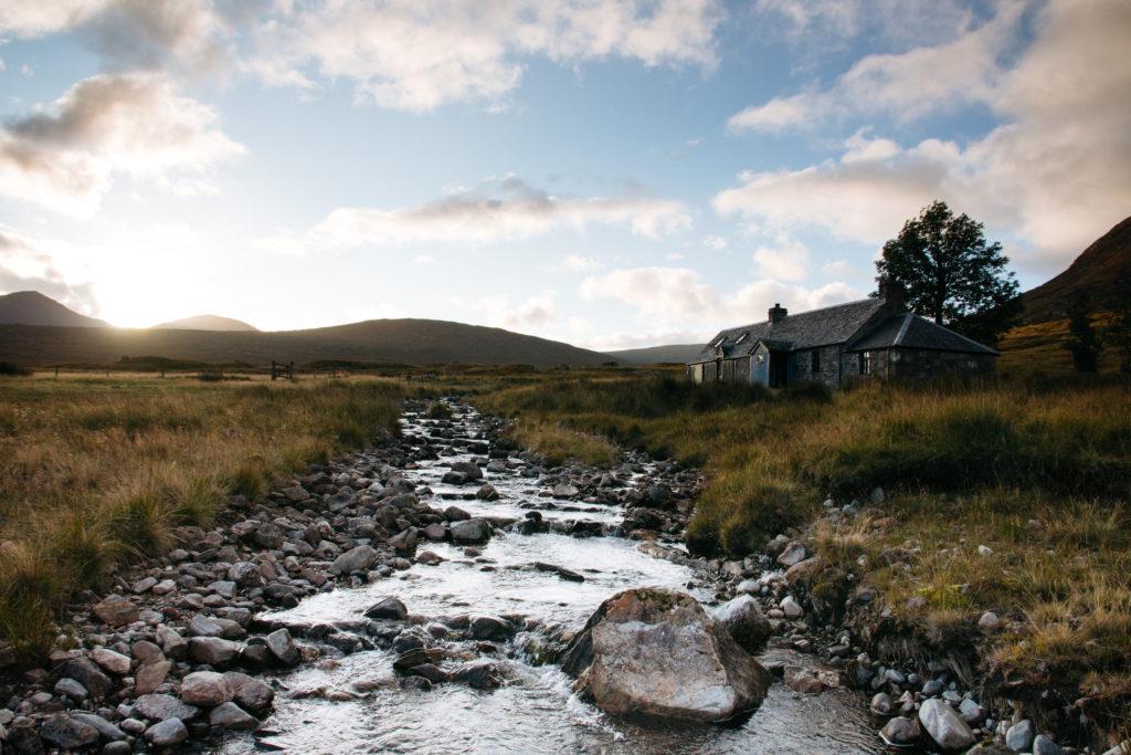 Ben Alder Cottage - Scottish Dream Photography