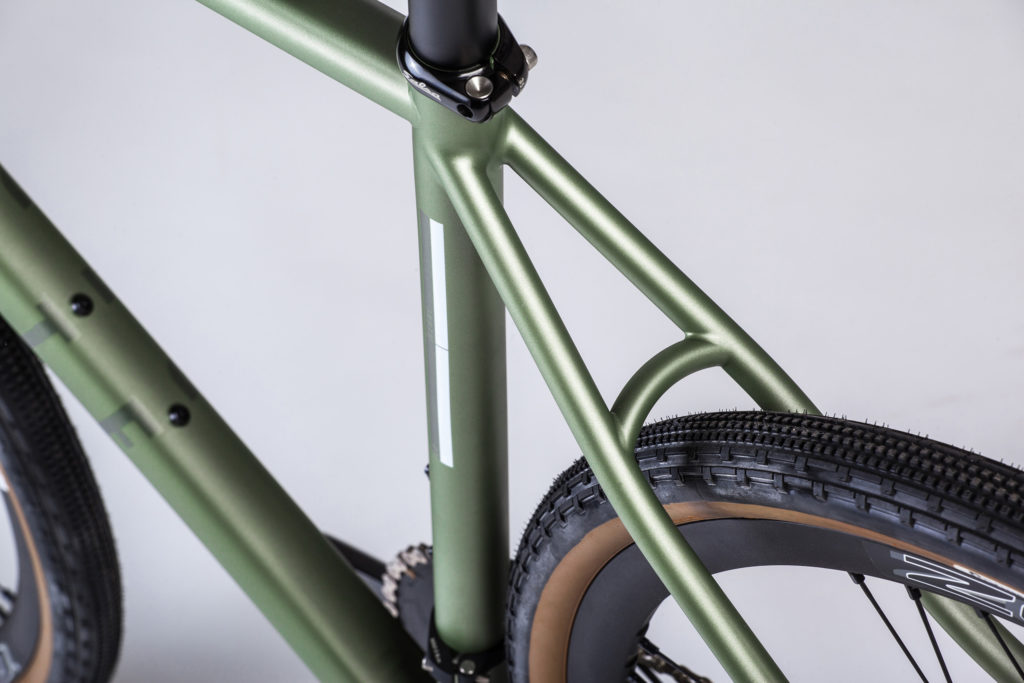 Repete Cycles Verne - seat stays