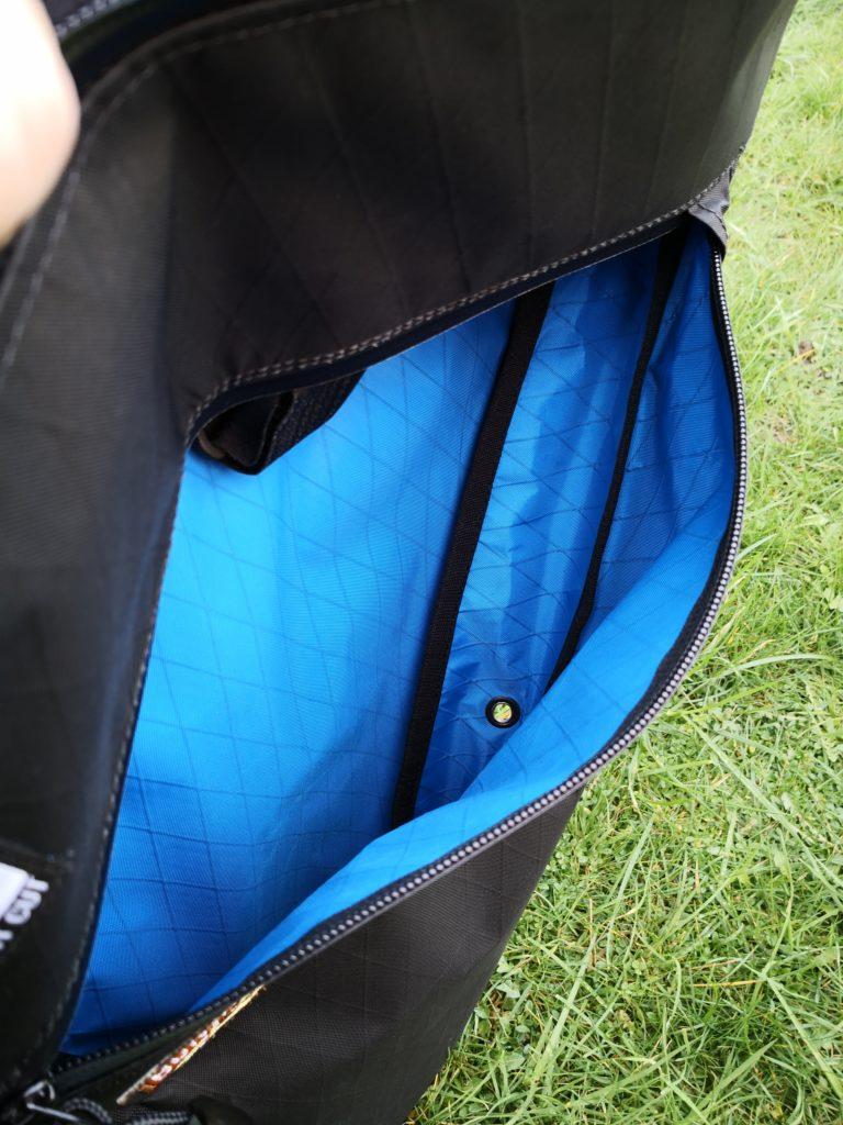 frame bag drainage hole