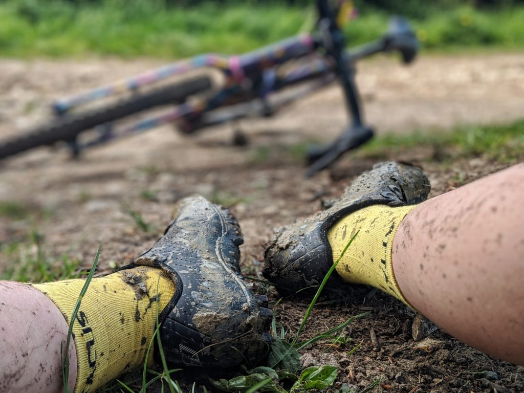Dirty Specialized Recon shoes
