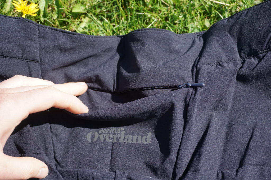 Overland Selector rear pocket