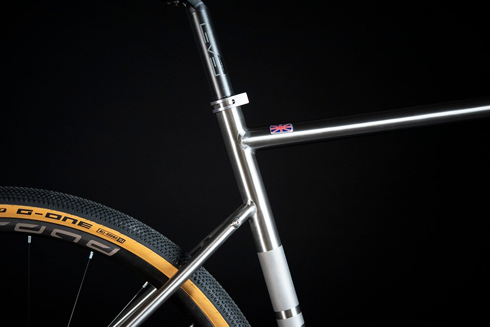 Ribble Cycles CGR Ti rear stays